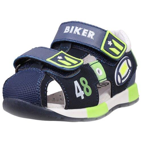 Сандалии Biker размер 20, темно-синийОбувь для малышей<br>