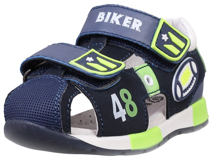 Сандалии Biker размер 20, темно-синий