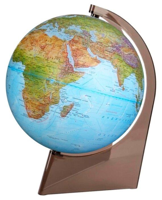 Глобус физико-политический Глобусный мир Двойная карта 210 мм (10289)