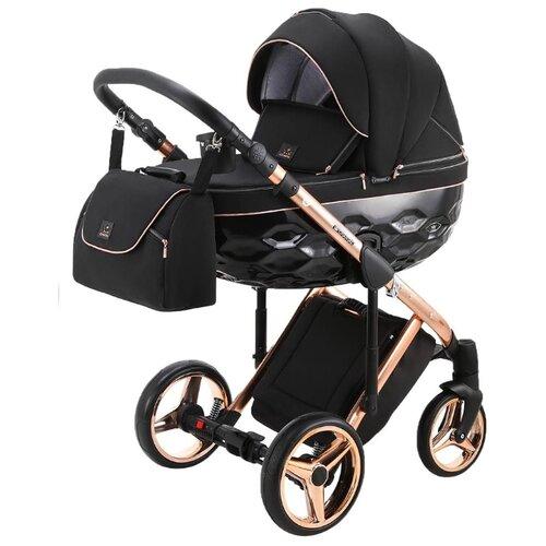 Купить Универсальная коляска Adamex Chantal Special Edition/Polar (3 в 1) C8 pink gold, Коляски