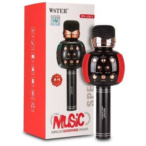 Караоке-микрофон WSTER WS-2911 красный