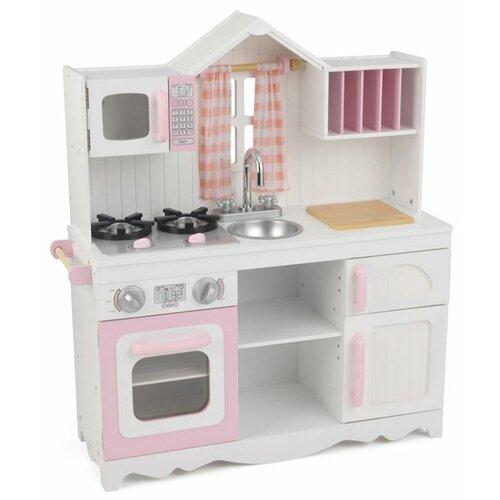Фото - Кухня KidKraft 53222 белый/розовый деревянная кухня kidkraft uptown espresso 53260 ke