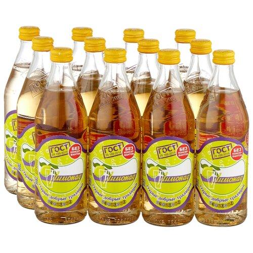 Лимонад Старые добрые традиции, 0.5 л, 12 шт.