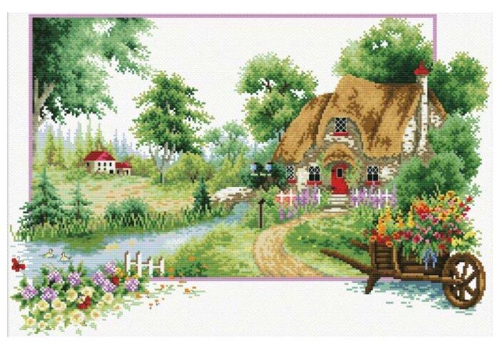 Белоснежка Набор для вышивания Деревня 60 x 40 см (7571-РК)