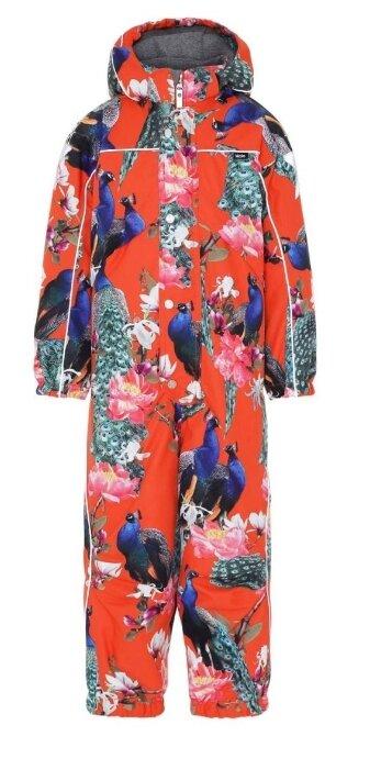 Куртки-ветровки мембранные Norveg Ультралегкая мембранная куртка-ветровка для девочек. Цвет коралловый