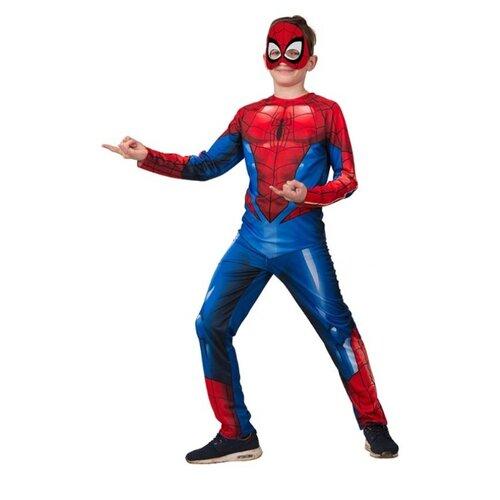 Купить Костюм Батик Человек Паук (5093), синий/красный, размер 146, Карнавальные костюмы