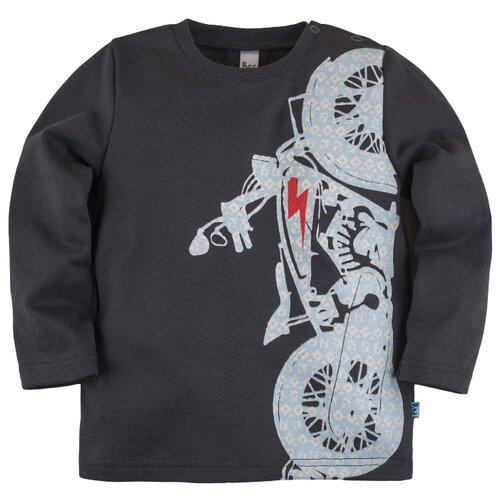 Лонгслив Bossa Nova размер 86, графитовыйФутболки и рубашки<br>