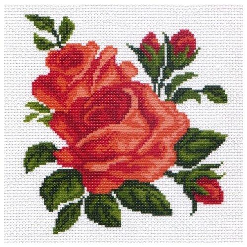 Купить Розы Рисунок на канве 28/37 28х37 (17х18) Матренин Посад 0437-1, Матрёнин Посад, Канва
