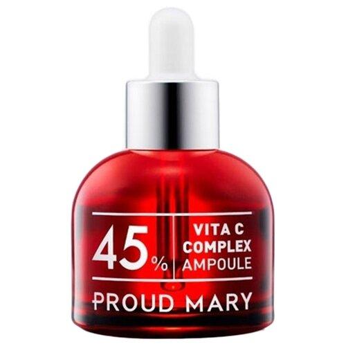 Proud Mary Vita C Ampoule Complex 45% Осветляющая сыворотка для лица с витамином С, 50 мл