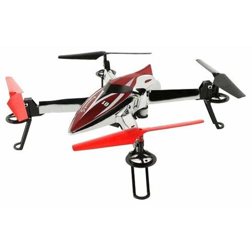 Квадрокоптер WL Toys Q212K серебристый/красный пульт управления wl toys v911 rc