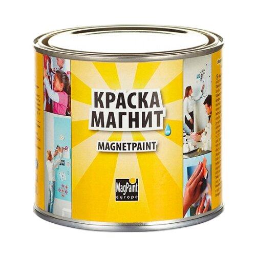 Краска латексная MAGPAINT Магнитная краска для детской матовая темно-серый 0.5 л