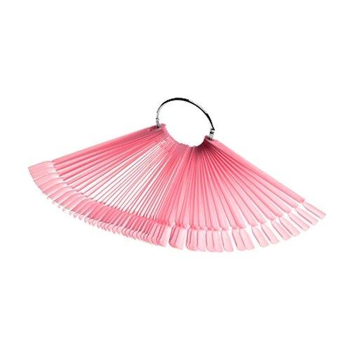 Irisk Professional Дисплей-веер на кольце розовый