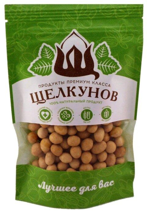 Арахис Щелкунов жареный в кокосовом соке пластиковый пакет 120 г