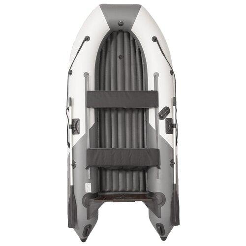 Фото - Надувная лодка Лоцман Пилот М-330 НДНД серый/светло-серый надувная лодка лоцман с 260 м серый