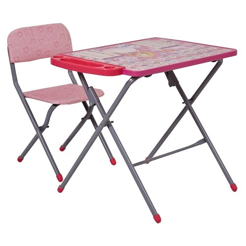 Комплект Фея Принцесса 0005695 45x60 см розовый/серый комплект в кроватку фея 0001015 2 розовый