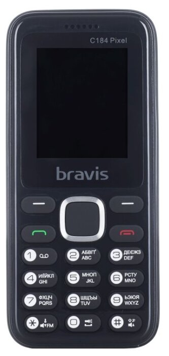 BRAVIS Телефон BRAVIS C184 Pixel