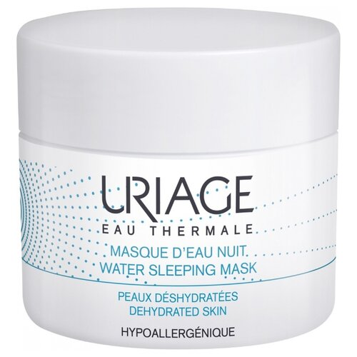 Uriage Eau Thermale Water Sleeping Mask ночная увлажняющая маска, 50 мл uriage creme d eau riche отзывы