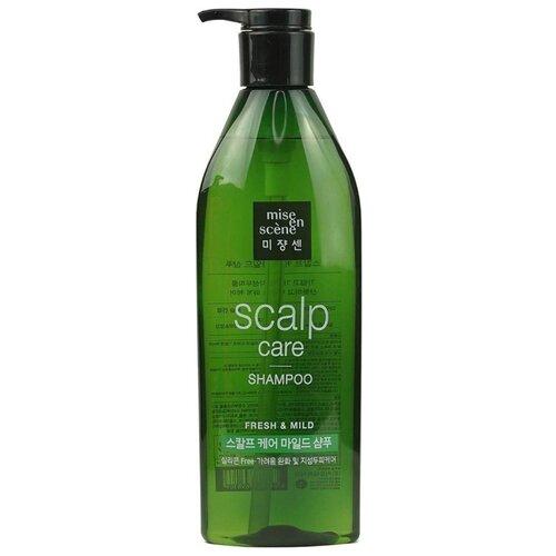 Mise en Scene шампунь Scalp Care Shampoo Fresh & Mild 680 мл с дозатором