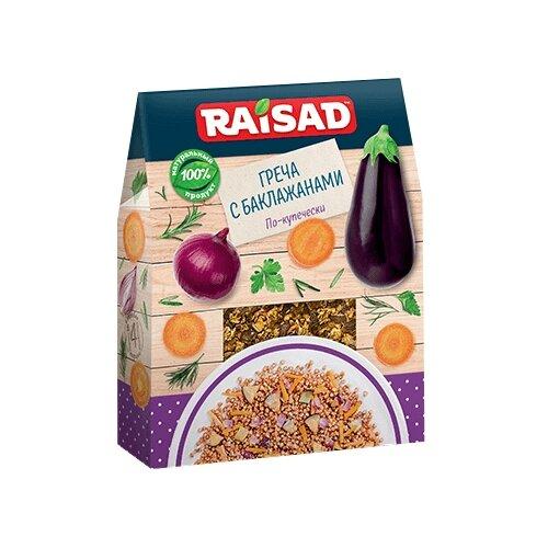 RAISAD Греча с баклажанами По-купечески 200 гСмеси для супов и гарниров<br>