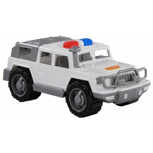 Купить Внедорожник Полесье патрульный Защитник в коробке (69207) белый, Машинки и техника