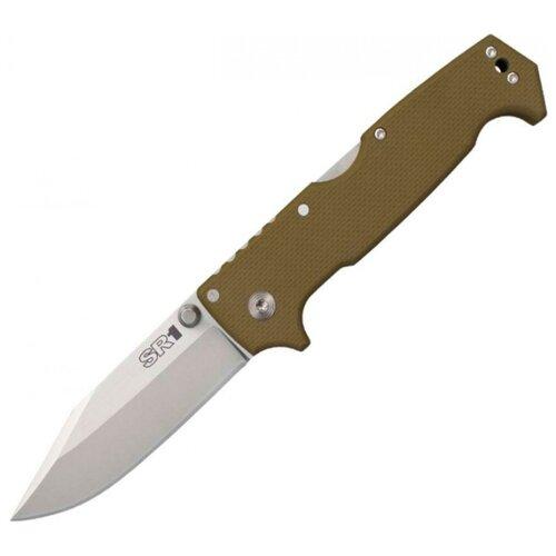 Нож складной Cold Steel SR1 зеленый нож складной cold steel ak 47