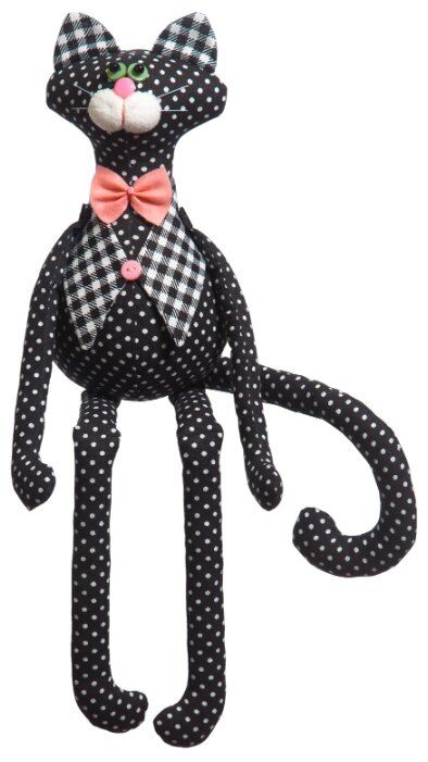 Малиновый слон Набор для изготовления мягкой игрушки Кот Яша (ТК-008)