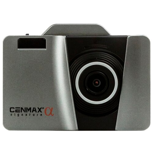 Видеорегистратор с радар-детектором Cenmax Signature Alfa, GPS черный