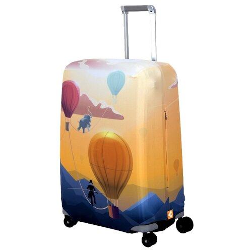 Чехол для чемодана ROUTEMARK Bristol SP240 M/L, разноцветный чехол для чемодана routemark inmotion размер m l 65 74 см