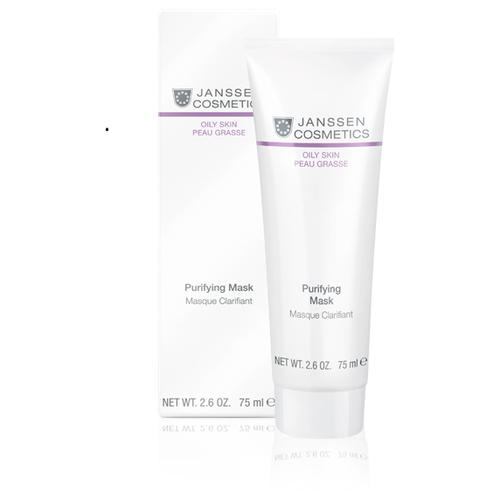 Janssen Cosmetics Себорегулирующая маска Purifying очищающая, 75 мл janssen cosmetics маска для губ goodnight