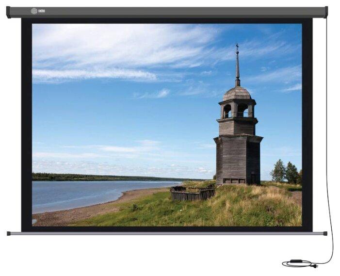 Рулонный матовый белый экран cactus Professional Motoscreen CS-PSPM-152X203