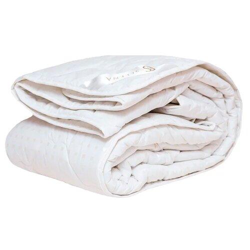 цена Одеяло Selena Акварель Лебяжий пух, 172 х 205 см (белый) онлайн в 2017 году