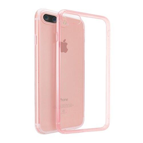 Купить Чехол Ozaki OC747 для Apple iPhone 7 Plus/iPhone 8 Plus прозрачный/розовый