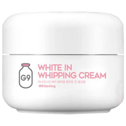 G9SKIN White In Whipping Cream Крем для лица осветляющий, 50 г лучший осветляющий крем для лица