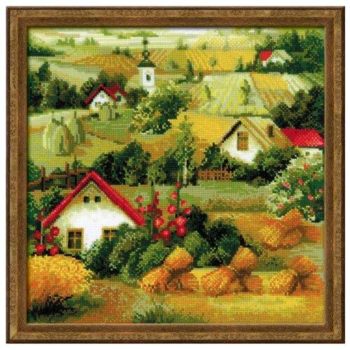 Купить Риолис Набор для вышивания крестом Сербский пейзаж 40 x 40 (1569), Наборы для вышивания