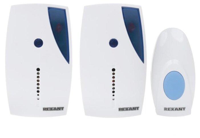 Звонок с кнопкой REXANT 73-0050 электронный беспроводной (количество мелодий: 36)