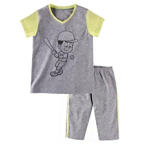 Купить Комплект одежды Наша мама размер 98, серый, Комплекты и форма