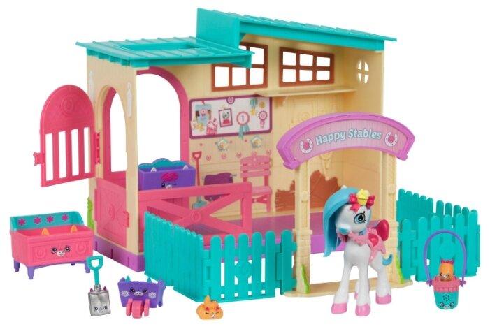 Игровой набор Moose Shopkins Happy Places Весёлая конюшня 56688