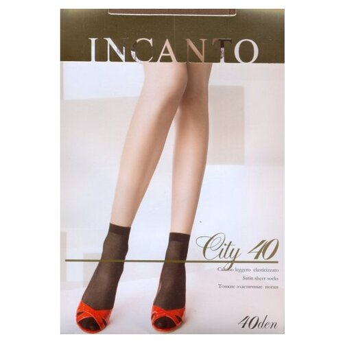 Капроновые носки Incanto City 40, 2 пары, размер UNI, melon