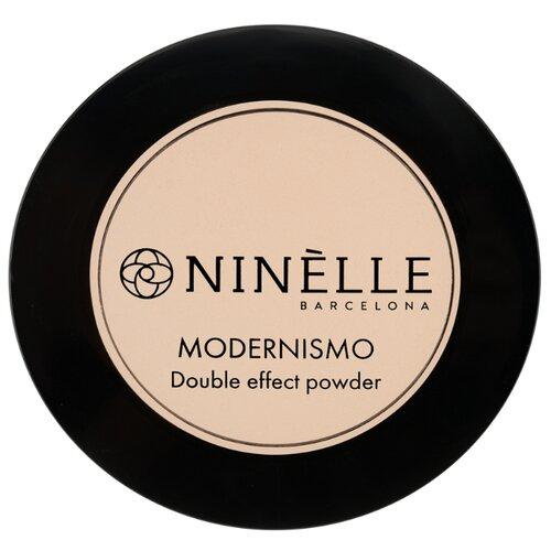 Ninelle Пудра компактная Modernismo двойного действия 223 натуральный бежевый
