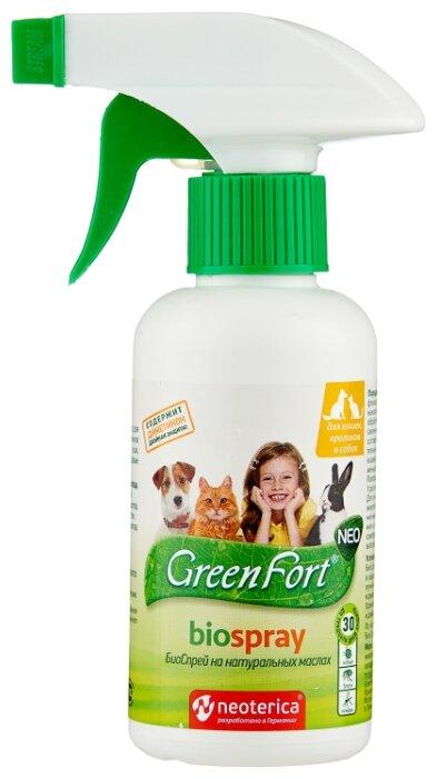 GreenFort спрей от блох и клещей