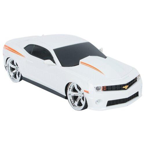 Купить Легковой автомобиль GK Racer Series Chevrolet Camaro Copo (866-2410) 1:24 19 см белый/оранжевый, Радиоуправляемые игрушки