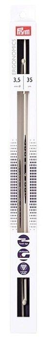 Спицы Prym полимерные Ergonomics диаметр 3.5 мм, длина 35 см