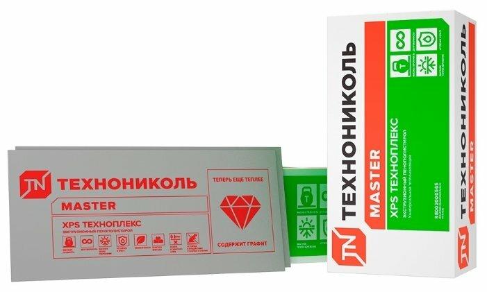 Экструдированный пенополистирол (XPS) Техноплекс 120х60см 20мм 20 шт
