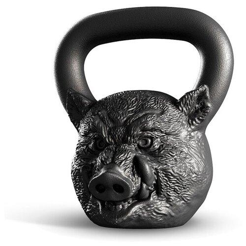 Гиря цельнолитая Iron Head Кабан 12 кг