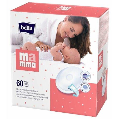 Купить Bella Лактационные вкладыши Bella Mamma 60 шт., Прокладки для груди
