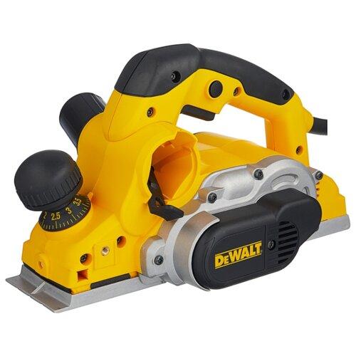 Электрорубанок DeWALT D26500K желтый/черный