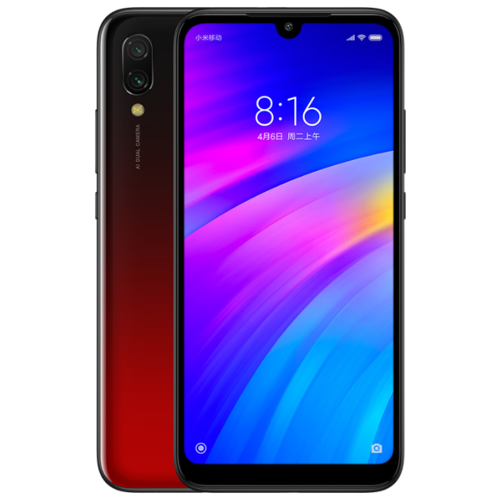 Смартфон Xiaomi Redmi 7 3/32GB красный