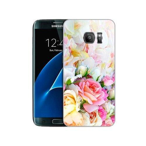 Чехол Gosso 591902 для Samsung Galaxy S7 нежные розы