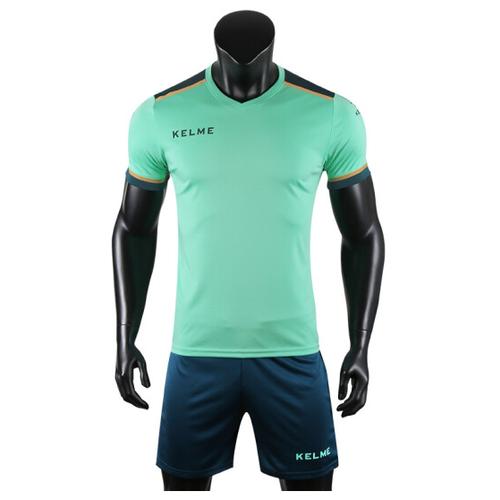 Спортивный костюм Kelme размер 150, зеленый/темно-синий