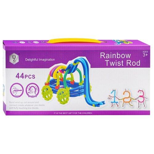 Мягкий конструктор QeZhi Delightful Imagination HD829 Rainbow Twist Road wedgits конструктор imagination set